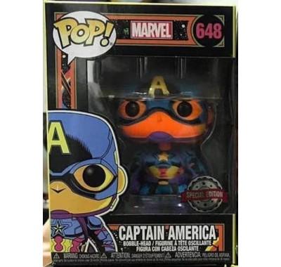 Капитан Америка (Captain America Black Light (Эксклюзив)) из комиксов Марвел