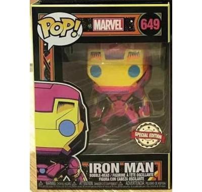 Железный Человек (Iron Man Black Light (Эксклюзив)) из комиксов Марвел