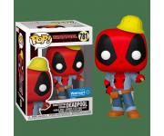 Construction Deadpool со стикером (Эксклюзив Walmart) из комиксов Deadpool