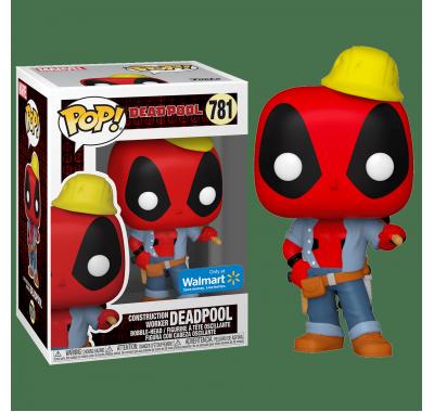Дэдпул строитель со стикером (Construction Deadpool (Эксклюзив Walmart)) из комиксов Дэдпул