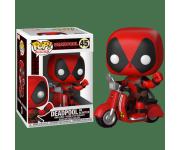 Deadpool on scooter Rides из фильма Deadpool 45