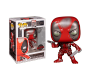 Deadpool First Appearance metallic (Эксклюзив BoxLunch) из серии Marvel 80th
