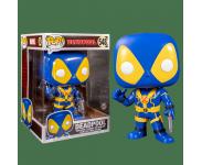 Deadpool Thumbs Up Blue and Yellow 10-inch (Эксклюзив Walmart) из фильма Deadpool