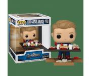 Captain America Victory Shawarma Diorama Deluxe (Эксклюзив Amazon) из фильма Avengers 758