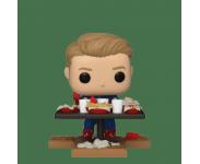 Captain America Victory Shawarma Diorama Deluxe (Эксклюзив Amazon) из фильма Avengers