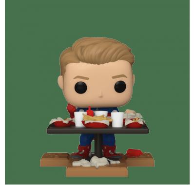 Капитан Америка Диорама Победная Шаурма (Captain America Victory Shawarma Diorama Deluxe (Эксклюзив Amazon)) из фильма Мстители