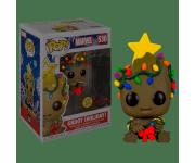 Baby Groot with Lights GitD (Эксклюзив Walmart) из комиксов Marvel Holiday