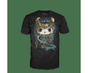 Loki Black T-Shirt (размер XL) из комиксов Marvel