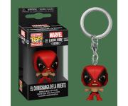 El Chimichanga De La Muerte Deadpool Keychain из серии Marvel: Lucha Libre Edition