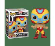 El Heroe Invicto Iron Man из комиксов Marvel: Lucha Libre Edition