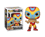 El Heroe Invicto Iron Man из комиксов Marvel: Lucha Libre Edition