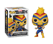 La Estrella Cosmica Captain Marvel из комиксов Marvel: Lucha Libre Edition