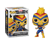 La Estrella Cosmica Captain Marvel из комиксов Marvel: Lucha Libre Edition
