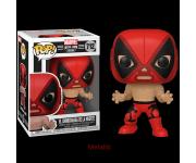 El Chimichanga De La Muerte Deadpool Metallic (Эксклюзив) из комиксов Marvel: Lucha Libre Edition