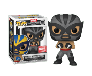 El Animal Indestructible Wolverine Gray со стикером (Эксклюзив Marvel Collector Corps) из комиксов Marvel: Lucha Libre Edition 711