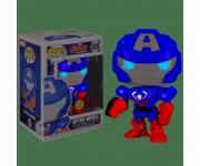 Captain America Mech Strike GitD (Эксклюзив FYE) из комиксов Marvel Comics 829