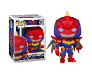 Captain Marvel Mech Strike (PREORDER mid-MAY) из комиксов Marvel Comics