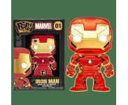 Iron Man 4-inch Enamel Pin из фильма Avengers Marvel