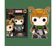 Loki 4-inch Enamel Pin из фильма Avengers Marvel