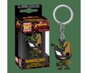 Venomized Baby Groot keychain из комиксов Marvel