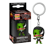 Venomized Hulk Keychain из комиксов Marvel