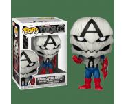 Poison Captain America (Эксклюзив Pop in a Box) (preorder WALLKY) из комиксов Venomverse Marvel 856