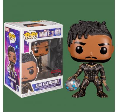 Король Киллмонгер (King Killmonger (Эксклюзив Target)) (preorder WALLKY) из мультсериала Что если…? Марвел
