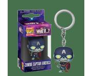 Zombie Captain America Keychain из мультсериала What If…? Marvel