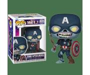 Zombie Captain America 10-inch (Эксклюзив GameStop) из мультсериала What If…? Marvel 949