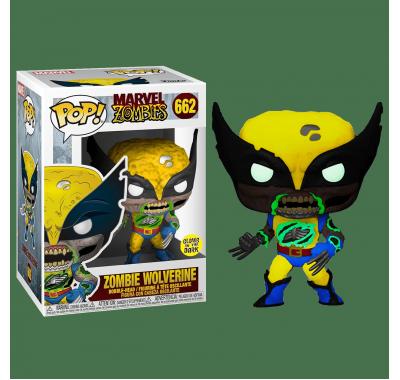 Росомаха зомби светящийся (Wolverine Zombie GitD (Эксклюзив Entertainment Earth)) из комиксов Марвел Зомби