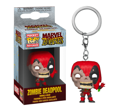 Дэдпул зомби брелок (Deadpool Zombie Keychain) из комиксов Марвел Зомби