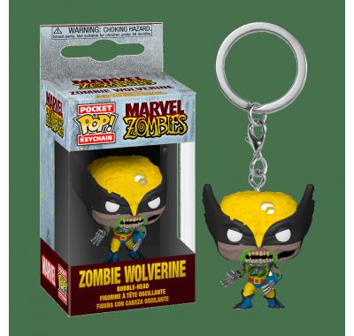 Росомаха зомби брелок (Wolverine Zombie Keychain) из комиксов Марвел Зомби