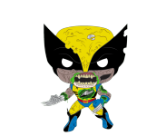 Wolverine Zombie из комиксов Marvel Zombies