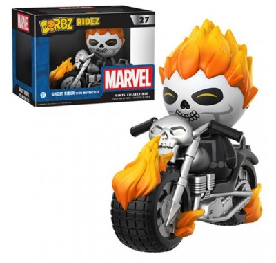 Призрачный гонщик на мотоцикле Дорбз (Ghost Rider with Motorcycle Dorbz Ridez) из комикcов Марвел