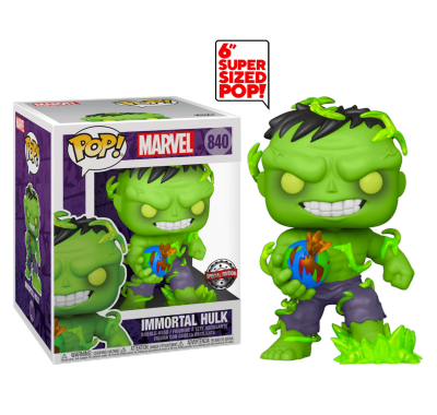 Бессмертный Халк (Immortal Hulk 6-inch (Эксклюзив Previews)) (PREORDER mid-MAY) из комиксов Марвел Комиксы