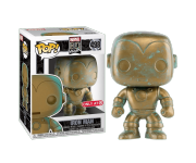 Iron Man Patina со стикером (Эксклюзив Target) из серии Marvel 80th