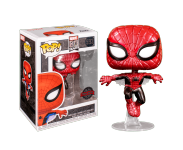 Spider-Man First Appearance Metallic (Эксклюзив Hot Topic) (preorder WALLKY) из серии Marvel 80th
