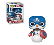 Captain America as Snowman из комиксов Marvel Holiday