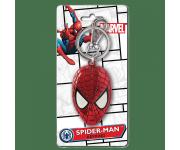 Spider-Man Head Colored Pewter Keychain Monogram из комиксов Marvel