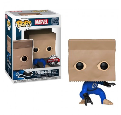 Человек-паук в костюме фантастической четверки (Spider-Man Bombastic Bag-Man (Эксклюзив Walgreens)) из комиксов Марвел