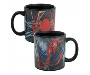 Spider-Man Ceramic Heat Reactive Mug из комиксов Marvel