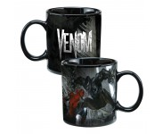 Venom Heat Reactive Ceramic Mug из комиксов Spider-Man Marvel