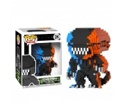 Xenomorph Orange and Blue 8-Bit (Эксклюзив Entertainment Earth) (preorder WALLKY) из фильма Alien