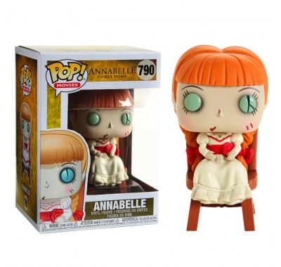 Аннабель в кресле (Annabelle in Chair) из фильма Проклятие Аннабель 3 Хоррор