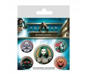 Aquaman Badge Pack из фильма Aquaman