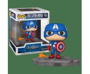 Captain America Avengers Assemble Diorama Deluxe (Эксклюзив Amazon) из фильма Avengers: Endgame