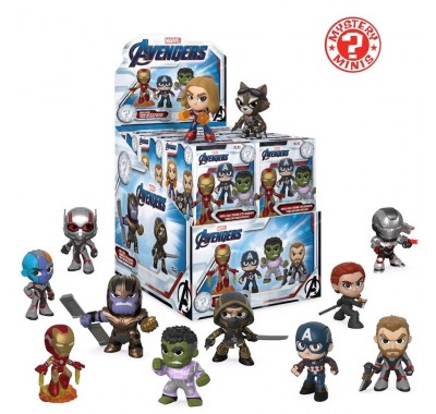 Мстители: Финал ЗАКРЫТАЯ коробочка мистери минис (Avengers: Endgame blind box mystery minis) из фильма Мстители: Финал