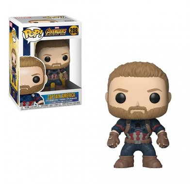 Капитан Америка (Captain America) из фильма Мстители: Война бесконечности
