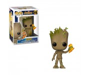 Groot with Stormbreaker из фильма Avengers: Infinity War