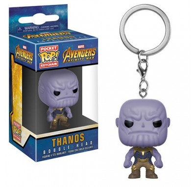 Танос брелок (Thanos Keychain) из фильма Мстители: Война бесконечности